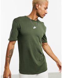 Nike – Repeat Pack – T-Shirt - Grün