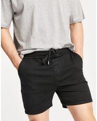 Bolongaro Trevor Shorts con cordón ajustable - Negro