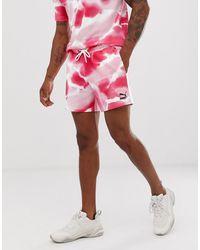 PUMA – Shorts - Pink