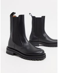 & Other Stories Tall - Stivaletti bassi chunky - Nero