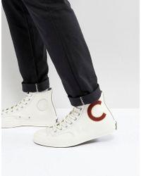 08350ec4ba1f Converse - Chuck Taylor All Star  70 Hi Plimsolls In White 159679c - Lyst