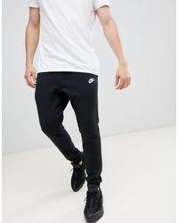 Nike Club Joggers - Black