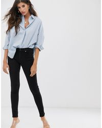 French Connection Re-bound Skinny Jean - Black