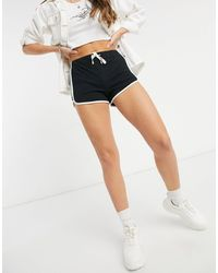 TOPSHOP Runner Shorts - Black