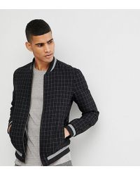 Noak - Harrington In Wool Check - Lyst