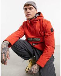 Napapijri Rainforest Winter Jacket - Orange
