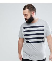 French Connection - Plus 5 Stripe Pocket T-shirt - Lyst