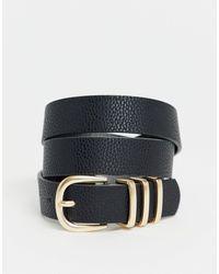Pieces Gold Buckle Belt - Multicolour