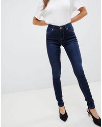 Oasis Jade Indigo Skinny Jeans - Blue