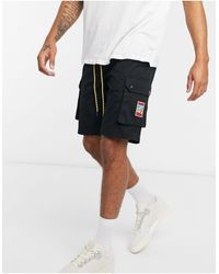 adidas Originals Черные Шорты Карго -черный