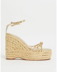 SIMMI Shoes Alpargatas doradas - Metálico