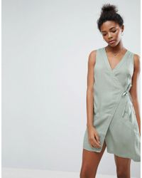 A State Of Being - Vanish Wrap Dress - Lyst