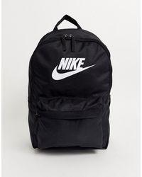 Nike Черный Рюкзак Heritage