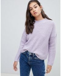 ONLY - Oversize Rib Jumper - Lyst