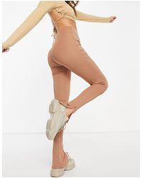 Flounce London Leggings beis - Multicolor