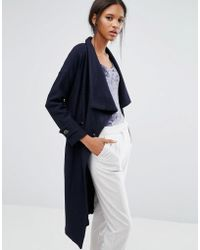 Closet - Closet Double Buttoned Belted Jacket - Lyst