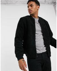 New Look Chaqueta bomber negra - Negro