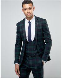 ASOS Asos Super Skinny Suit Jacket - Green