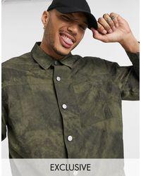Reclaimed (vintage) Рубашка-куртка Цвета Хаки Inspired-зеленый