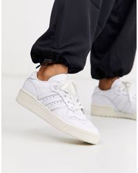 adidas Originals - Zapatillas bajas en blanco Rivalry - Lyst