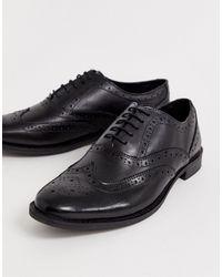 ASOS Brogue Shoes - Black