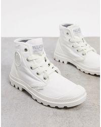 Palladium Белые Ботильоны Со Шнуровкой -белый - Многоцветный