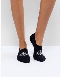 429fcf65 Calcetines para zapatillas con logo de Jeans - Negro