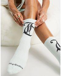Juicy Couture X Asos Logo Socks - Multicolour