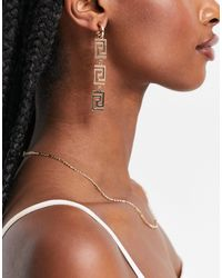 ALDO Frywen Drop Earrings - Metallic