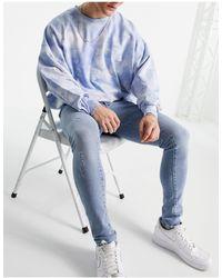 River Island Jeans super skinny blu medio