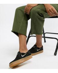 Nike - Nike Zoom Black Stefan Janoski Slipsneakers - Lyst