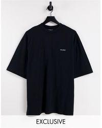 Collusion Camiseta negra con logo - Negro
