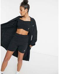 adidas Originals 'relaxed Risqué' - Donzig Gebreid Oversized Vest - Zwart