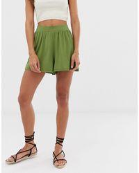 ASOS Culotte Shorts - Green