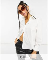 Y.A.S Petite - Y.a.s. Petite Classic Poplin Shirt - Lyst