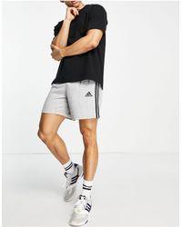 adidas Originals Серые Флисовые Шорты С 3 Полосками Adidas-зеленый Цвет