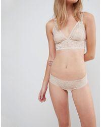 DORINA - Tone On Tone Lana Nude Lace Brief In Fair - Lyst