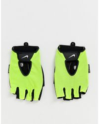 Nike Fundamental - Gants de fitness - Volt - Multicolore