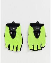Nike Неоновые Спортивные Перчатки Training Fundamental - Многоцветный