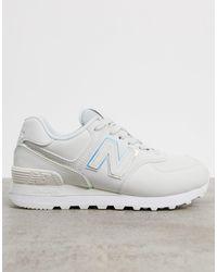 New Balance 574 Fashion Metallic Trainers - Multicolour