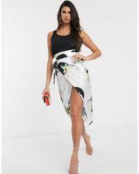 Never Fully Dressed Nancy Midi Skirt - Black