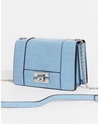Stradivarius Cross Body Bag - Blue