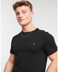 Farah Camiseta negra - Negro