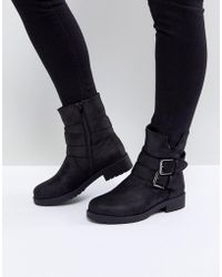 Blink Biker Boot - Black