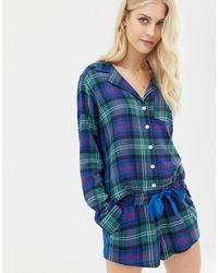 Abercrombie & Fitch Pajama Shorts - Blue