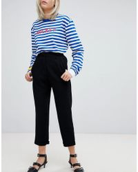 Pull&Bear - Tapered Pants - Lyst