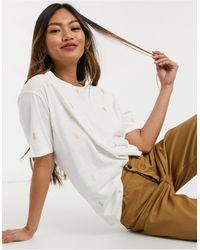 FABIENNE CHAPOT Phil Pineapple Print T-shirt - White
