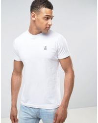 Psycho Bunny - Neon Crew Neck T Shirt White - Lyst