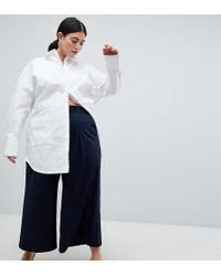 ASOS - Curve Basketball Trousers With Pleat Detail - Lyst