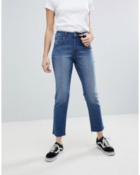 Cheap Monday - Slim Fit Jean With Cropped Leg - Lyst
